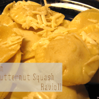 "Recipe: Vegan Butternut Squash Ravioli with Sage ""Butter"" Sauce"