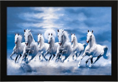 White Horse Painting As Per Vastu - Defendbigbird.com