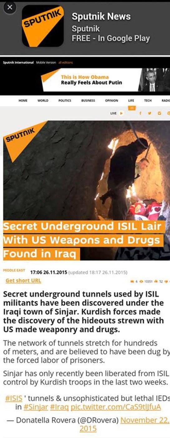 Μόνον τὰ made in U.S.A. ὅπλα προτιμᾶ ἡ ISIS!!!2