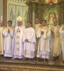 Ordination du diacre Richard Banania Belga fc