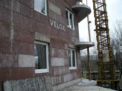 Stavba bytového domu