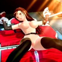 Watch Tifa Lockhart getting pulverized by tentacles in different poses!