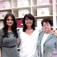 Drei Generationen–drei Frauen