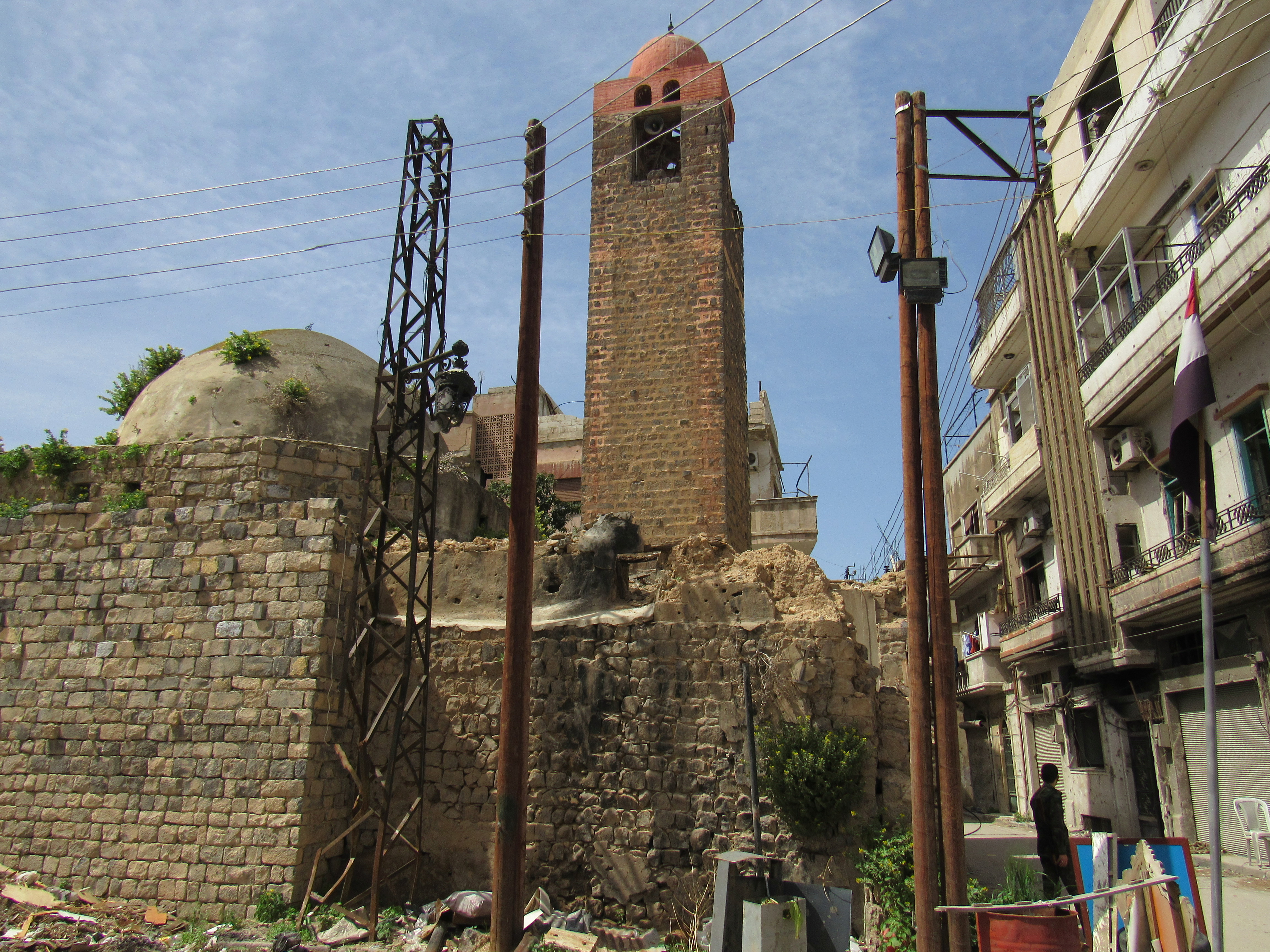 Mosques bombed in Homs