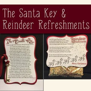 Santa Key & Reindeeer Refreshments Products