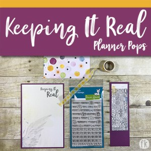 Keeping It Real Planner Pops - Featured