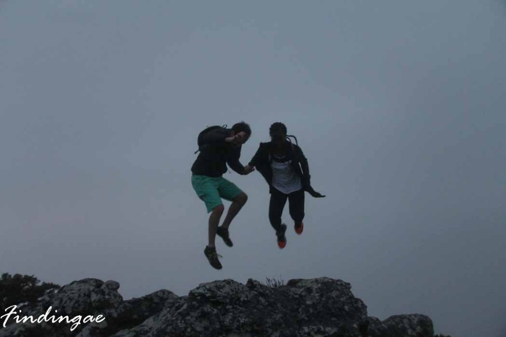 Table Mountain Jump