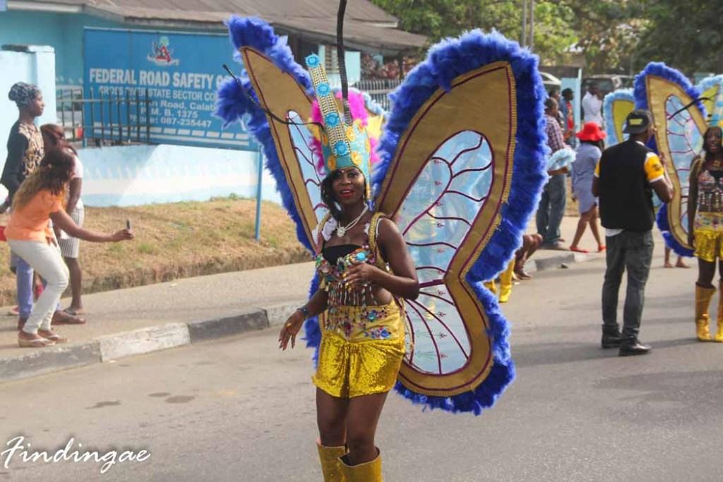 Girl at Calabar Carnival