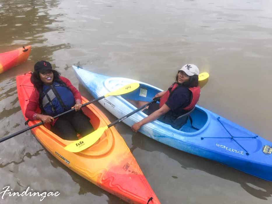 Kayaking in Lagos