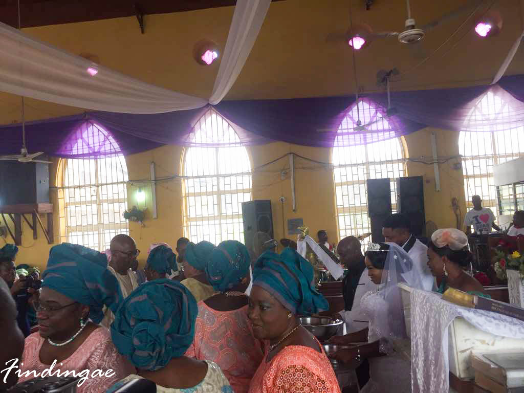 Nigerian Church Wedding