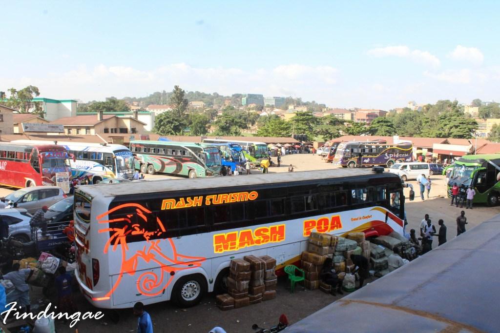 Kampala to Nairobi