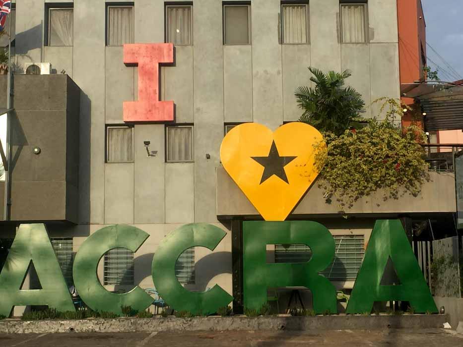 Lagos to Accra