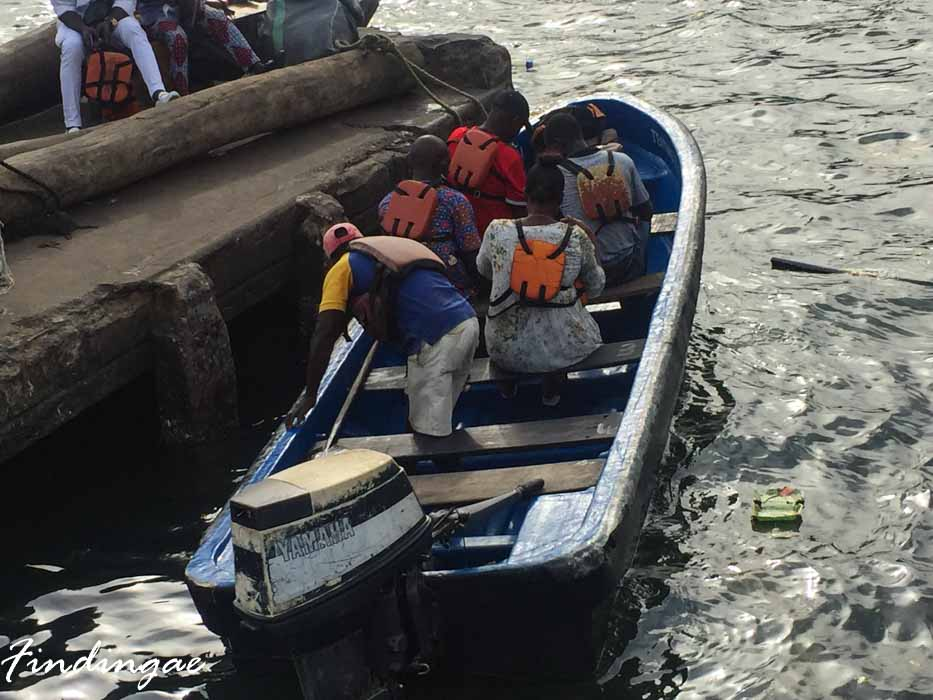 Tarkwa bay boat