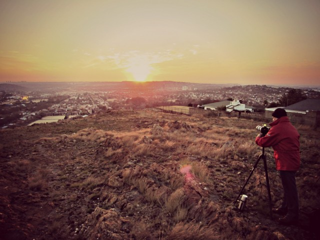Joburg Photowalkers Sunrise Photowalk Langermans Kop