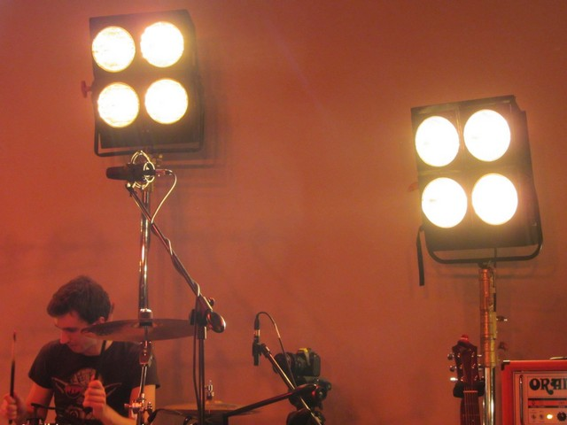 Lights and Drums