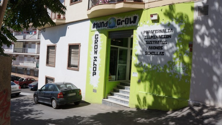 grow shop in Orgiva