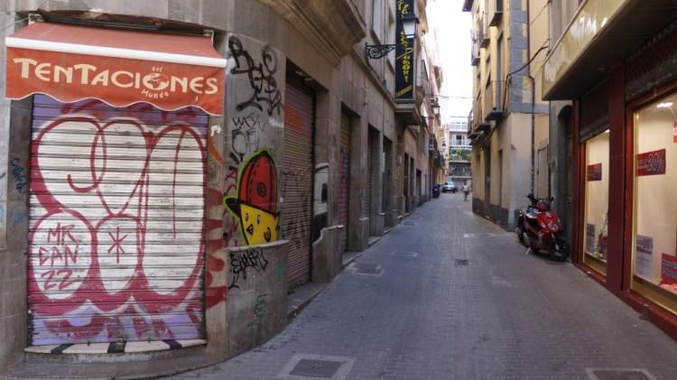 Walking the streets of Granada, Spain