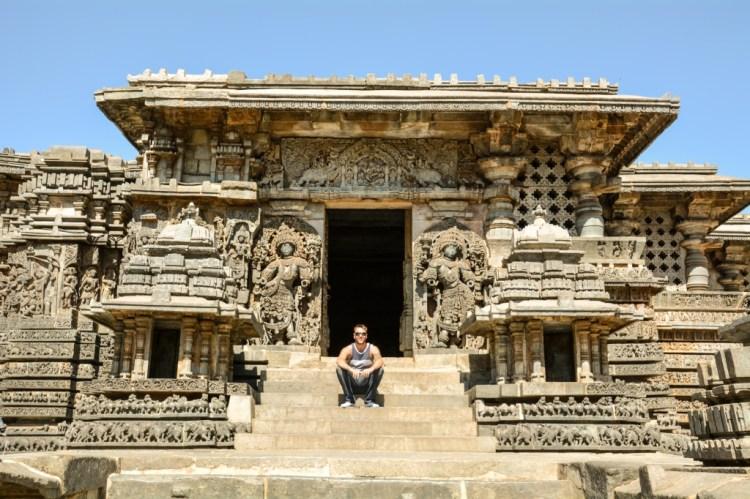 Hoysaleswara Temple in Halebidu