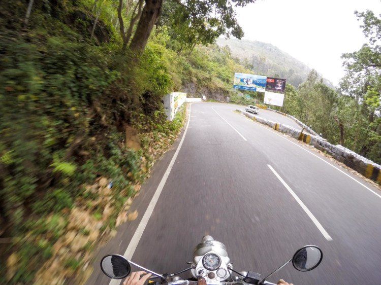 Bangalore to Yercaud motorcycle
