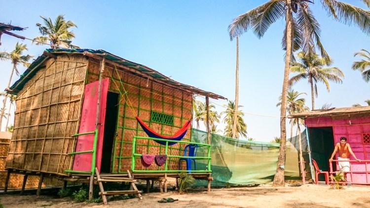 Arambol Beach Shacks - Travel in India