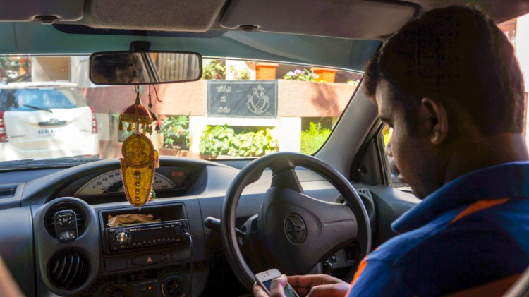 Using Uber Abroad in India