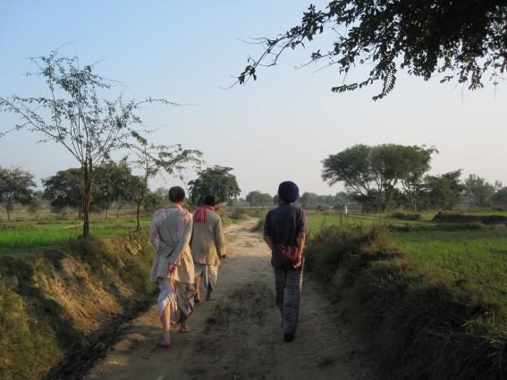 Gokul walks