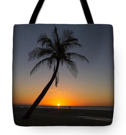 Bantayan Sunrise Tote Bag