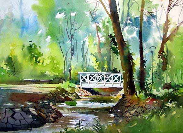 Amazing Examples of Landscape Watercolor Paintings
