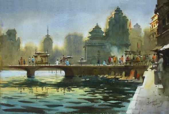 riverscape-painting