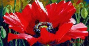 acrylic-flower