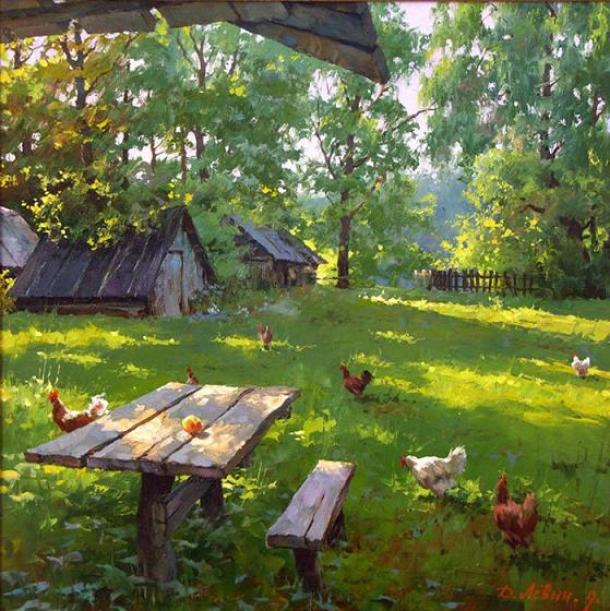 chicken-painting
