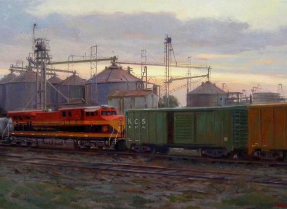 train-painting