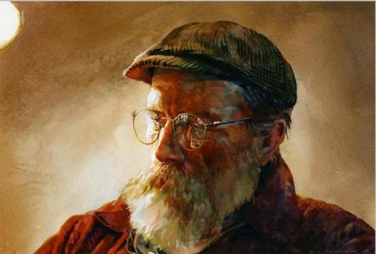 old-man-watercolor