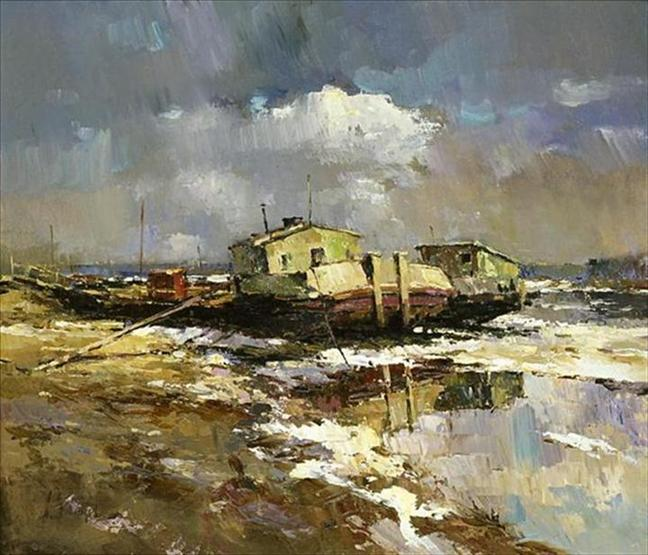 Russian-landscape-painting