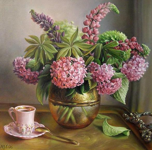 hydrangea-paintings