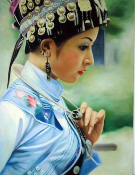 paint-chinese-girl