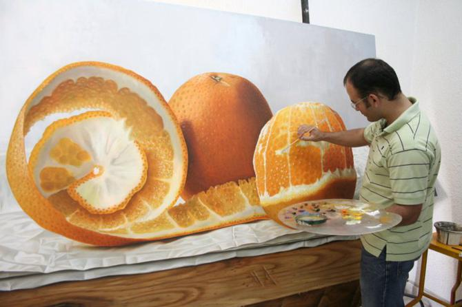 orange-painting
