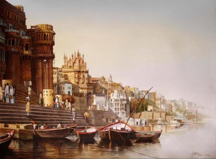 Banaras-paintings