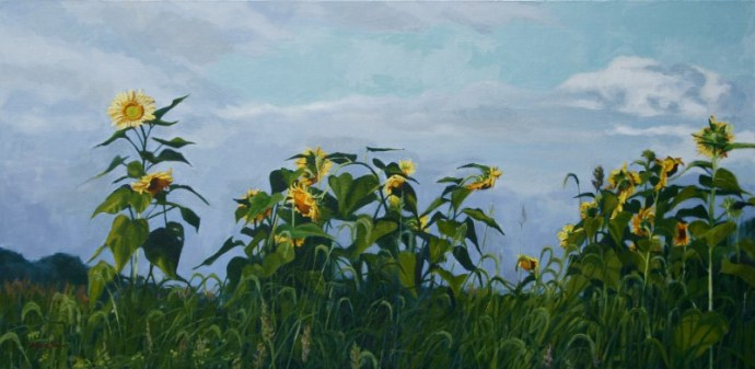 sunflower-field-painting