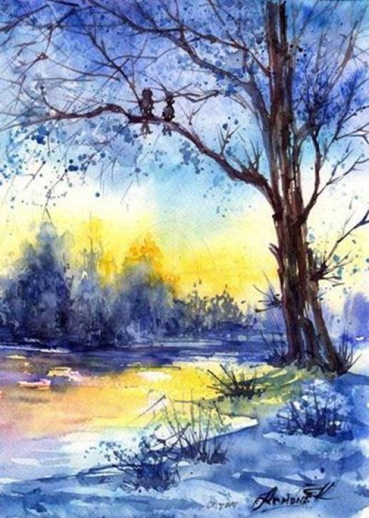 nature-watercolor