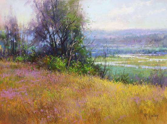 Richard McKinley Pastel Paintings
