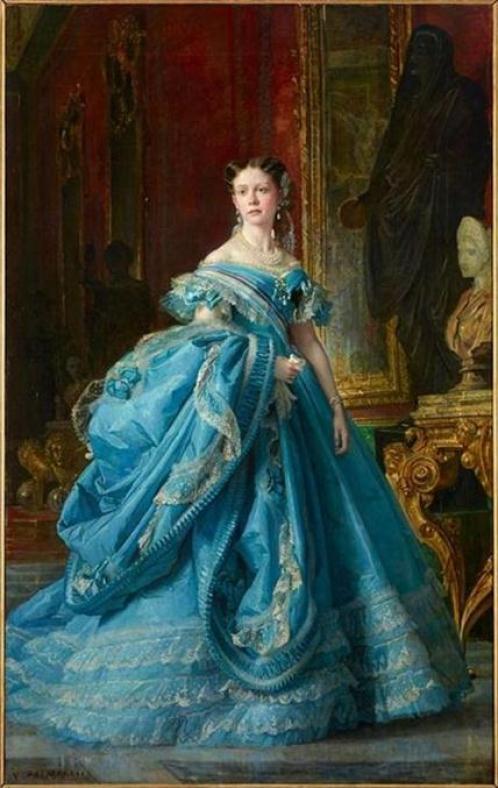 19th-century-dress-painting