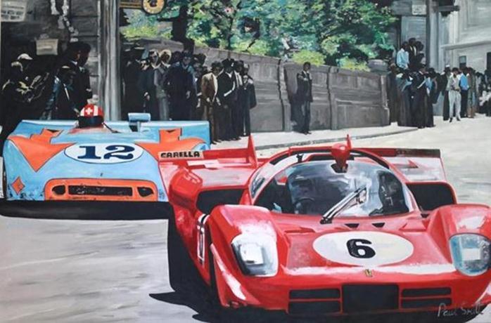 painting-vintage-cars