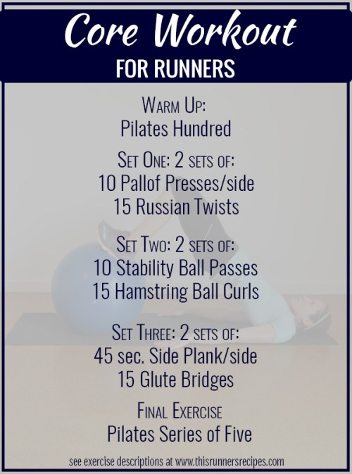 Core Workouts for Runners - six core workouts designed for runners, by runners. A strong core is the key to being a faster, stronger runner.