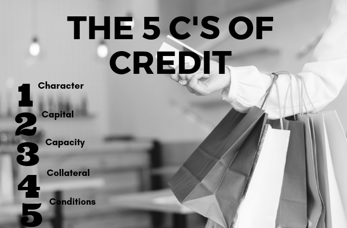 The 5'c of credit explained