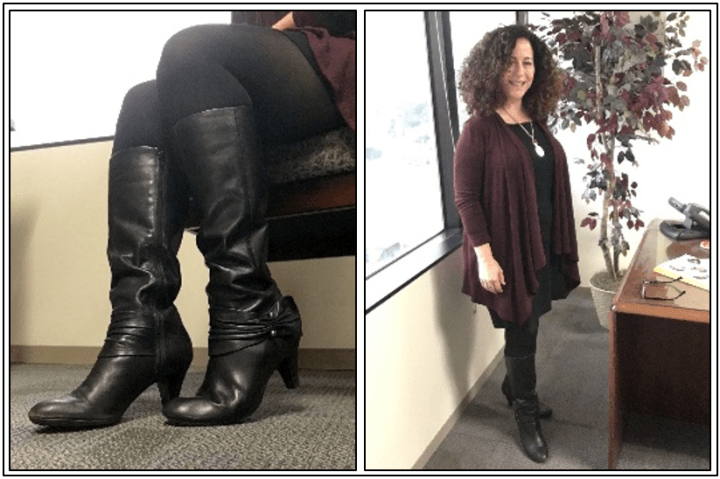 Day 10 - tall boots with ankle detail