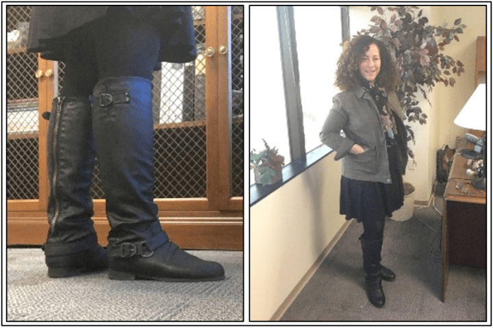 Day 23 - boots with back zipper