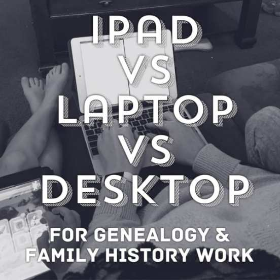 iPad vs Laptop vs Desktop