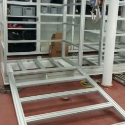 engineering works aluminium profile