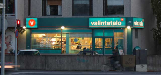 フィンランドのスーパーとコンビニの中間みたいな店VALINTATALO(ヴァリンタタロ)